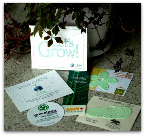 Plantable, eco-friendly promotional products for Earth Day