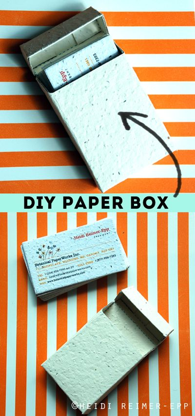 DIY Paper Box with Free Printable