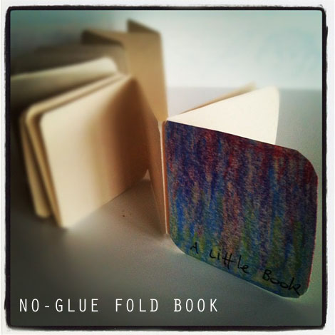 No-Glue Fold Book from Stationery.blogs.com