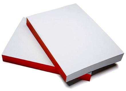 Whitelines_orange_glue_notebook