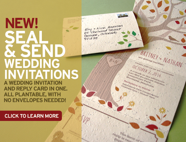 New Seal And Send Wedding Invitations Stationery Scoop