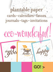 Botanical PaperWorks Plantable Paper