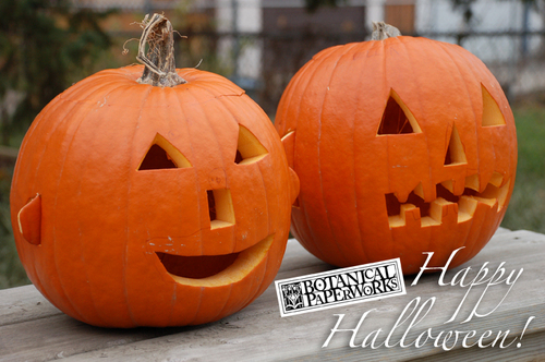 Happy Halloween from Botanical PaperWorks